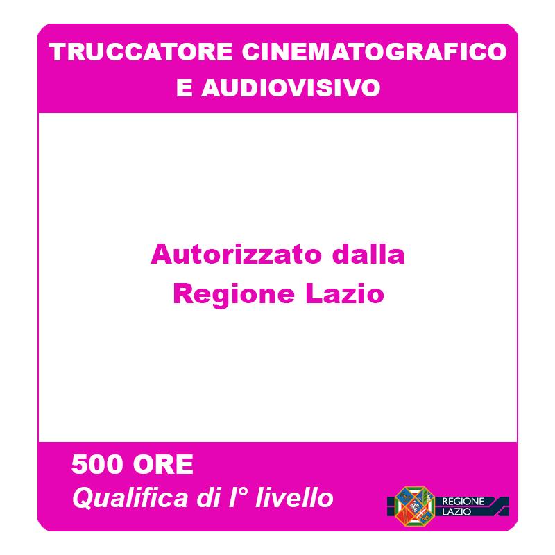 Truccatore Cinematografico e Audiovisivo